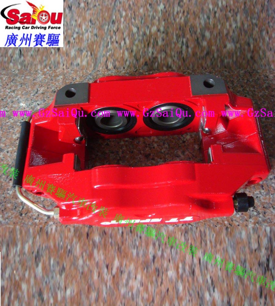 荣威350改台湾TT小四活塞刹车卡钳 改装小四分泵高清图片